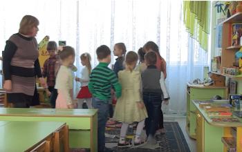 Сотрудники Министерства информации ДНР посетили ясли-сад № 19 в Макеевке