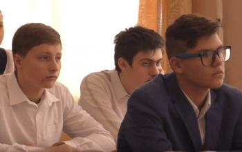 В Донецкой школе № 13 состоялся урок гражданственности